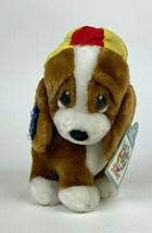 Vtg NEW Applause SAD SAM Bassett Hound STRUTTING Brown Dog w/ HAT 24151 Nwt - $39.11