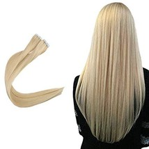 Easyouth Skin Weft Tape Remy Hair Invisible 16inch Colored 22 Natural Brazilian  image 1