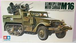 1/35 U.S. Multiple Gun Motor Carriage M16 Kit No MM181 Series No. 81 - $79.75