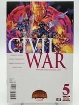 Civil War #5 Secret Wars First Print Volume 2 September 2015 Marvel Comics VF - $5.94