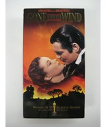Gone with the Wind VHS Tape Movie 1998 Box Set of (2) Tapes - $10.23