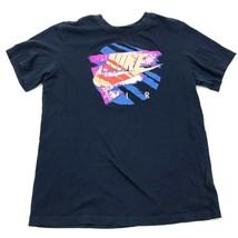 Nike Air Shirt Size Medium M Blue Retro Graphic Tee Short Sleeve Martin ... - $17.83