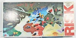 Vintage 1975 Risk Board Game World Conquest 1975 Original Version Comple... - $29.99