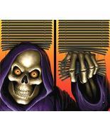 Set of 2 WOWindow Halloween Window Posters Grim Reaper - $22.00