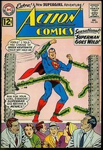 ACTION COMICS #295 1962-SUPERMAN GOES WILD-SUPERGIRL FN- - $44.14