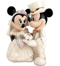 Lenox Disney Mickey Minnie's Dream Wedding Figu... - $69.90