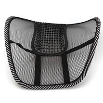 Chair Mesh Seat Back Support Lumbar Cushion Car Office Sitting Position ... - $8.94