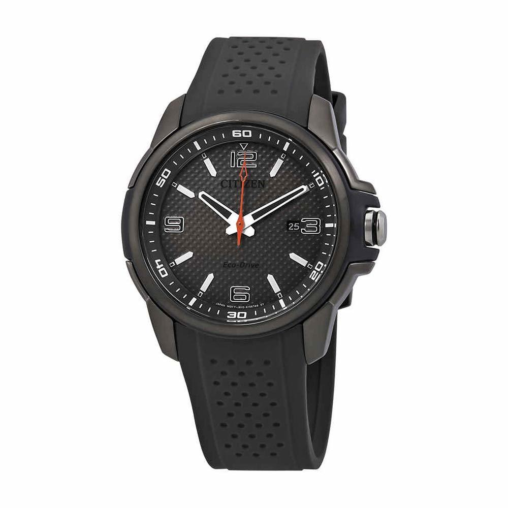 Citizen Mens Silicone Watch Eco-Drive Sport  AW1157-08H