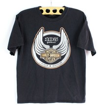Harley Davidson 105th Anno T-Shirt HD 08 Milwaukee Wisconsin TAGLIA S Ma... - $17.73