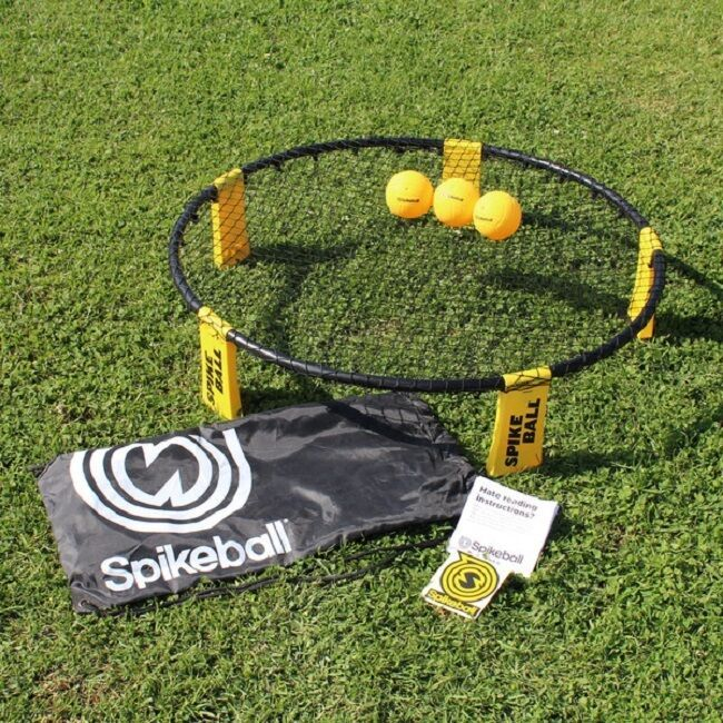 Spikeball Combo Meal Game Set Net Bag BackPack Balls Volleyball Beach 4 Square