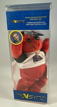 Justin Timberlake TY Rare Bears NSYNC Ltd Edition Collectors Shrinkwrapped - $9.85