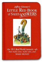 Little Red Book of Sales Answers: 99.5 Real World Answers That Make Sens... - $11.87