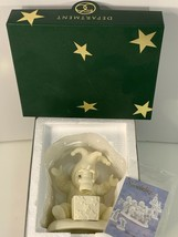 "Department  56 SNOWBABIES 2000 ""Pop Goes The Snowman"" Jester MINT IN BOX  - $17.99"