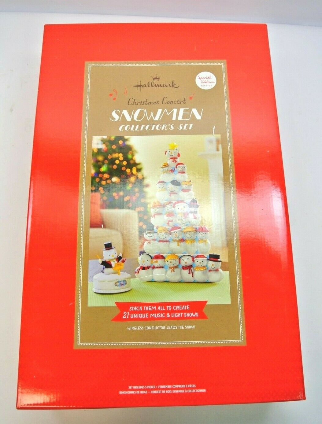 Hallmark Christmas Concert Snowmen Collector's Set Special Edition - Repaint