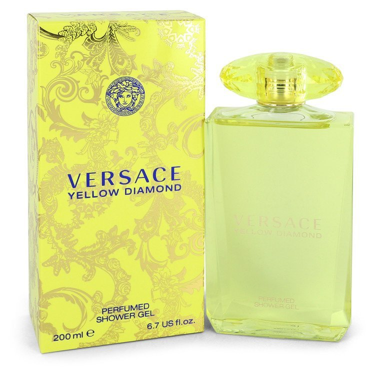 Aaversace yellow diamond shower gel