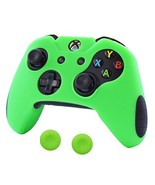 Pandaren Soft Silicone Thicker Skin Cover for Xbox One Controller Set Gr... - $10.25