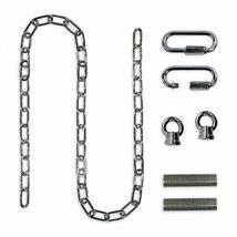 Royal Designs Heavy Duty Lighting Fixture Chain, Polished Nickel - $11.95