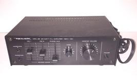 Realistic MPA-25 20 Watt P.A. Power Amplifier Public Address System Mic ... - $34.64