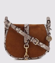 New Michael Kors Women's Jamie Suede Lg Saddle Bags Variety Color - $206.95