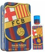 Fc Barcelona Cologne By Air Val International Eau De Toilette Spray FOR MEN - $8.91