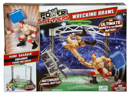WWE Power Slammers Wrecking Brawl Playset with Hand Grabbin' Sheamus NEW - $26.99