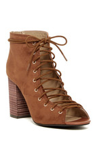 NWT! $140 Chinese Laundry Biggest Lace-Up Bootie - Size 8.5