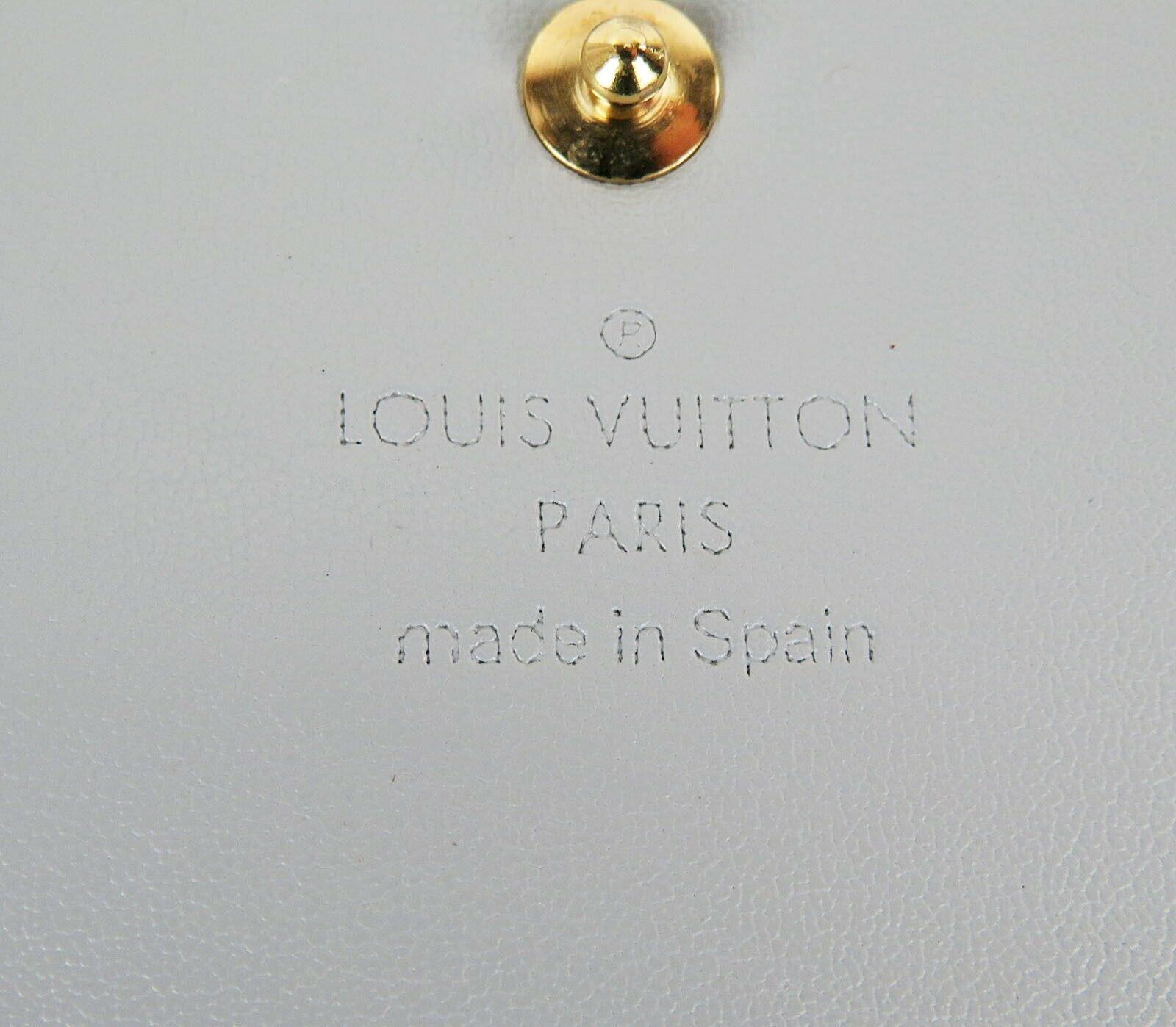 Auth LOUIS VUITTON Kenmare Silver Vernis Shoulder Bag Pochette #33577
