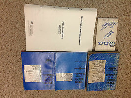 1988 OEM Ford MEDIUM & HEAVY TRUCK F B C Service Shop Repair Manual Set ... - $143.50