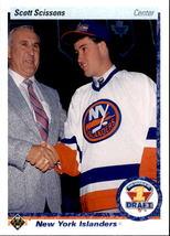 Scott Scissons 1990-91 Upper Deck Draft Rookie Card #357 - $0.99