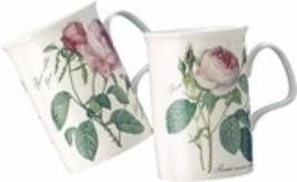 """ROY KIRKHAM """"Redoute Rose"""" FINE Bone China MUG/TEAPOT SET/17 MADE IN ENG... - $389.75"""