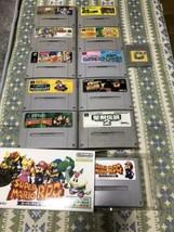 13 Super Nintendo Software etc. - $105.82