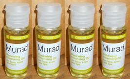 4-Murad Renewing Cleansing Oil for Face Eyes & Lips 1 oz x 4 - $7.42