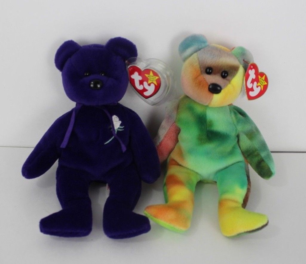 Ty Beanie Babies Bears Garcia And Princess And 50 Similar Items