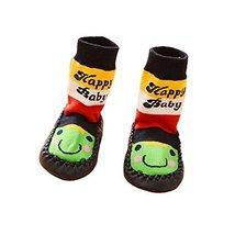 Cute Toddler Baby Non-Slip Slipper Floor Socks Children's Shoes Socks 1 Pair, Fr