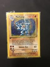 Pokemon Card Sealed 1st Edition Holo Machamp 8/102 Base Set with Free Sh... - $18.76