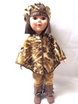 """18"""" Poncho Cape to fit American Girl, My Life, Our Generation - Tiger Pr... - $12.99"""