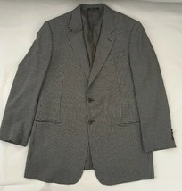 Mens Armani Collection Wool Blend Sport Coat Blazer Size 44L, Made In Italy - $49.99