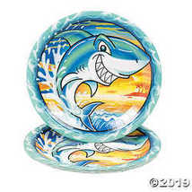Jawsome Shark Paper Dinner Plates - $4.24