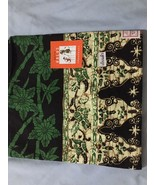 Women Sarong Batik Islamic Skirt Indonesia Wrap Ram Thai Costume Green F... - $12.86