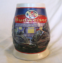1998 Anheuser Busch Budweiser Louie and Frank King Of Beers Stein CS372... - $19.99