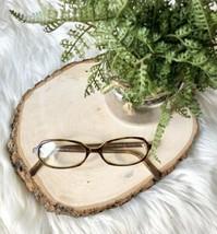 Calvin Klein 723 053 Green Tortoise Shell Plastic ITALY Eyeglasses Frame... - $36.70