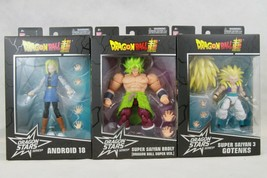 Bandai Dragon Ball Super Dragon Stars Set 3 Gotenks, Broly, Android 18 Wave 12 - $83.60