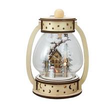 "9.75"" Woodland Sleigh Christmas Dome Lantern Tabletop Decoration - $113.95"