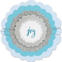 Sizzix Christmas Circles Rounded Scallops Framelits Die - $15.00