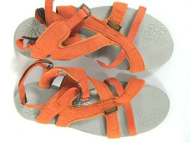 Keen Womens Orange Strappy Ankle Strap Sandals Size US 7.5  EUR 38 image 8