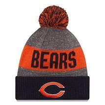 Era Knit Chicago Bears Orange On Field Sideline Winter Stocking Beanie P... - $30.51