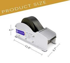 Water Activated Tape Dispenser- Elepa Manual Kraft Tape Dispenser,3.5-Inch Wide, image 5