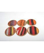 kilim coaster,drink coasters ,tea Coaster,handmade Kilim Coaster set 6 p... - $29.00