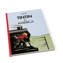 Tintin in America colorized english hardcover version - Locomotive