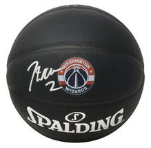 John Wall Signed Washington Wizards Black Spalding Basketball JSA ITP - $178.19